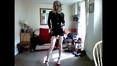 my lil black minidress 3