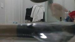 busty hairy teen in shower1