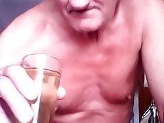 drinking my golden piss