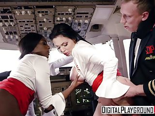DigitalPlayground - Fly Girls Final Payload Scene 3 Aletta O