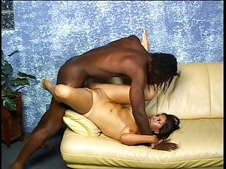 Exotic slut gets her ass licked and fucked by a black guy