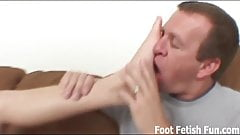 I want to give you a slippery footjob