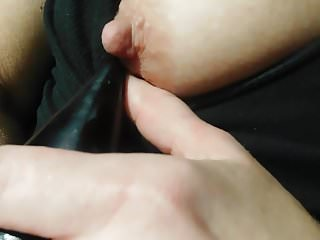 masterbating MY breast and Vagina.cumming hard