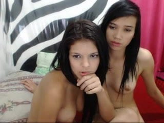 2 wet latina teens on webcam
