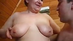 Russian stepmother fucks NOT her son