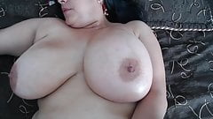 #2 bbw mature with big hanging mammaries and fat wet pussy
