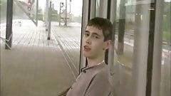 Wank on Train