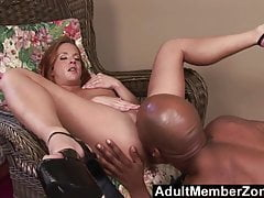 AdultMemberZone - Gabriella Banks Gets A Pussy Full Of Black