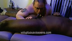 Throating Aquarius - Cock Worship porn image