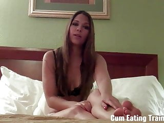 You are going to love jerking off and eating cum CEI