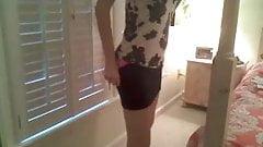 Sexy blonde milf strip on webcam