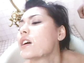 Maria Ozawa Bath Bukkake - Censored