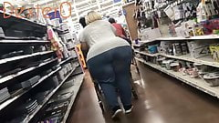 Wide BBW Pear Granny