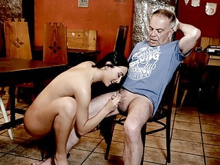 DADDY4K. Cheating on her bf with his horny dad