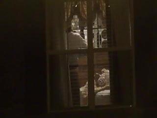 Milf voyeur - Neighbor milf voyeur