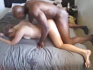 Cuckold Interracial Action with Hot GF Fucked by BBC