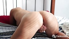 Hot Assed Steel Fingers Her Hairy Cunt