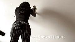 Ebony Wife Punished