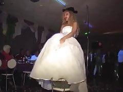 Bride - under face