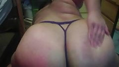Fat Ass Shaking and Spanking