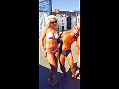 Melissa Hardbody Works White String Bikini