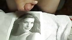By request: Cumming on Liv Tyler's face