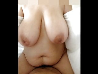 Fucking whith Super bbw and big tits