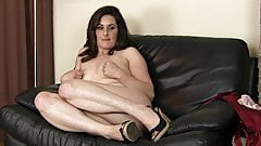 Mature Lady Demonstrates Her Body