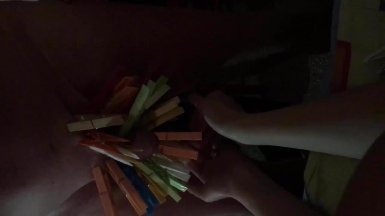 Clothespins torture