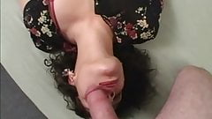 23 Year Old Angela Blowjob and Facial