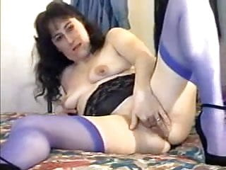 Skanky White Trailer Trash Showin Off Her Shaved Cunt