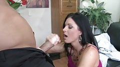 Milf Secretary vs. Fat Boss Cock's Thumb