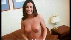 Amateur brunette fuck and facial