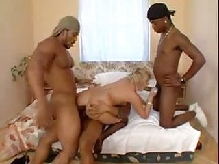 Black Master Share His White Slave With His Friend