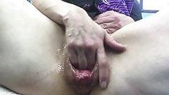 Big dildo stretch part 2