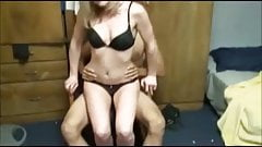 Amateur Lucky Guy threesome