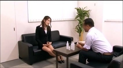 censored Good Asian Woman Lewd Office Lady scene 4