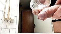 Wichsen im Hotelbad