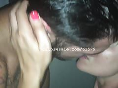 Sin and Diana Kissing Part2 Video3