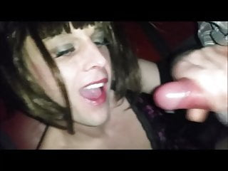 fun with cum at gloryhole