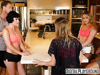 Preview 2 of XXX Porn video - Couples Vacation Scene 5 Mia Malkova and Ol