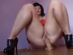 Outstanding webcam show of a mature German PAWG lady
