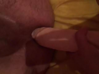 My Asia wife give me a big Dildo in My as