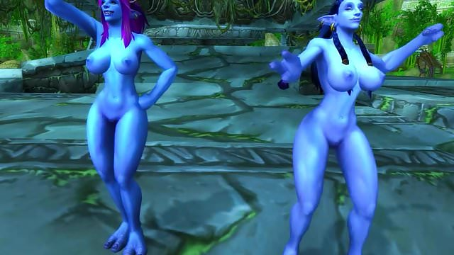 Preview 1 of Warcraft Troll Girls