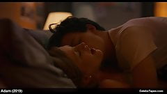 India Menuez & Margaret Qualley nude and blowjob sex scenes