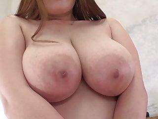 Shy busty girl