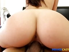 Private Casting-X - Shy cutie takes a mouthful's Thumb