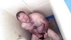 Mens public toilets