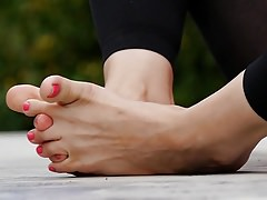 Feet 020 - Entangled Toes