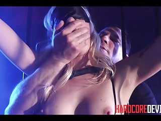 Hardcore Blonde Slut Lyra Law Dungeon BDSM Anal Fuck Orgasms